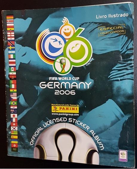 Album De Figurinhas Copa Do Mundo 2006 Panini Completo 1