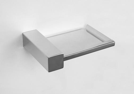 Saboneteira Quadratus - Aço Inox - Ref: Q503