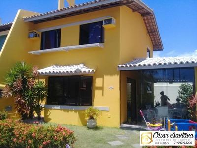 Casa Condomínio Fechado Praia Do Flamengo Salvador - Ca00293 - 32664699