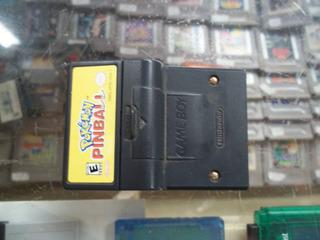 Pokemon Pinball Game Boy Color Nintendo Gbc