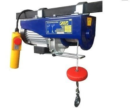 Tecle Polipasto Electrico 1200kg/600kg  1800w 220v Marca Bp