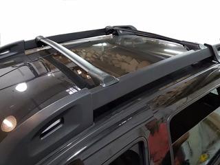Barras Porta Equipajes Renegade Aluminio Negro