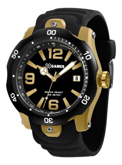 Relógio X-games Masculino Xmpp1047 P2px Dourado Lançamento