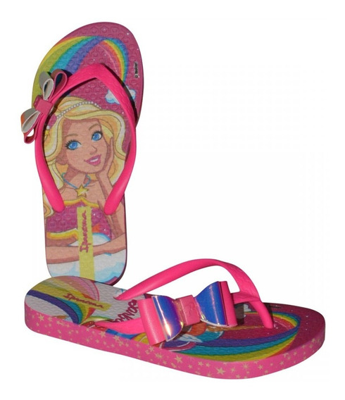 Chinelo Ipanema Barbie Fan 26213 Infantil