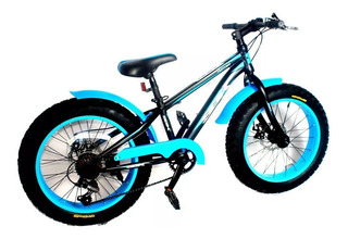Bicicleta Infantil Sbk Hunter Fat Bike 20 7v Disco - Racer