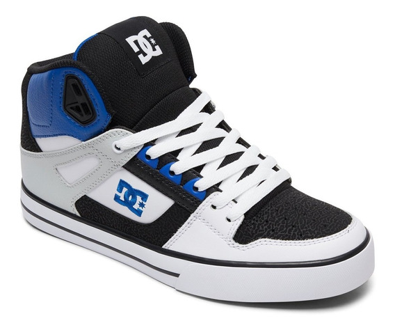 Tenis Para Caballero Dc Shoes Pure Ht Wc Blanco Negro