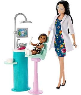 Barbie Profesionista Dentista Bebe Morena