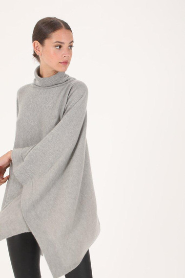 Sweater Poncho De Lana Forever21, H&m
