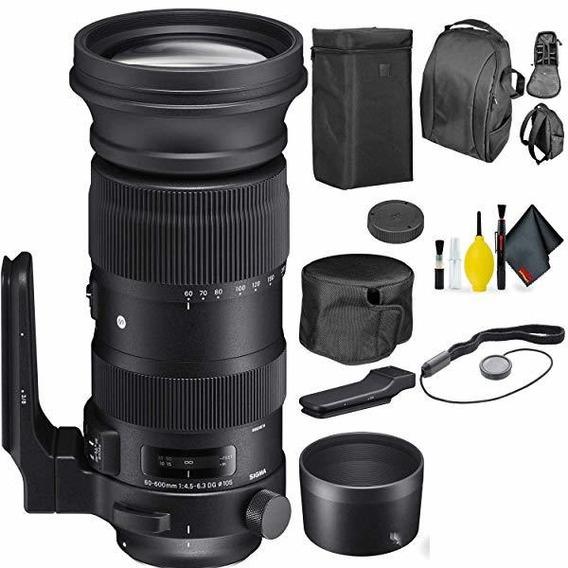 Camara Sigma 60-600mm F 4.5-6.3 Dg Os Hsm Sports Lente Nik ®