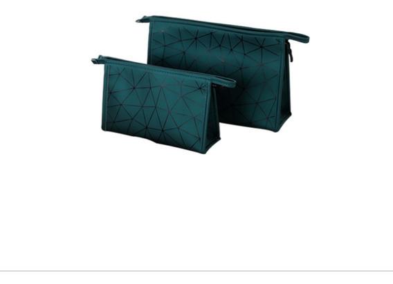 Bolsa Cosmetiquera Impermeable Con Compartimientos Internos