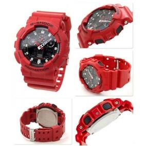 Relógio G-shock Ga100b Original Com Manual E Caixa Metalica