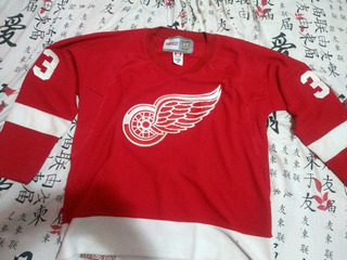 Camisa Jersey Detroit Red Wings Retrô Xl
