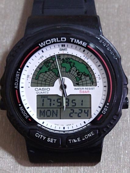 Relógio Casio Original Mod Aw-21u Raro