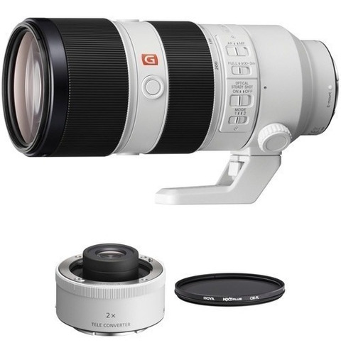 Sony Fe 70-200mm F/2.8 Gm Oss Lente Teleconverter 2x E