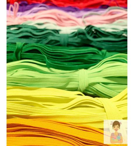 Elástico De Colores 6mm 12mts La Fabriquita