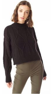 Sweater Prager Negro Las Pepas