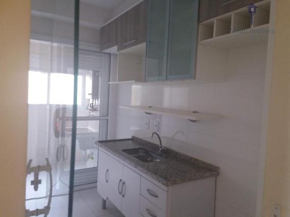 Apartamento Para Locação 3 Dormitórios Sendo Uma Suite, Todo Com Armarios Planejados, Condomínio Uppe Life Campolim - Ap0634