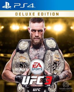 Ea Sports Ufc 3 Deluxe Edition Ps4 Digital Gcp