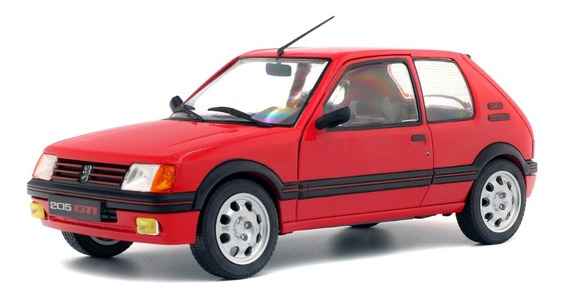 Solido Peugeot 205 Gti 1985 1/18