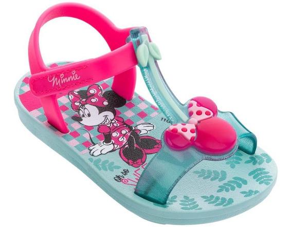 Sandália Infantil Grendene Minnie Cherry Baby 22142