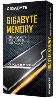 Memoria Ram Ddr4 2666mhz 8 Gb Xmp 2.0 Classic Negra Gigabyte