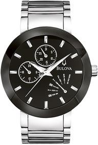 Relógio Bulova Masculino Prata Wb22195t