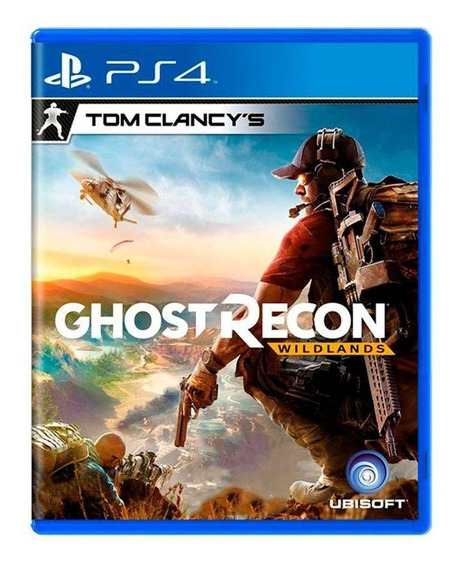 Tom Clancys Ghost Recon Wildlands Ps4 Mídia Física