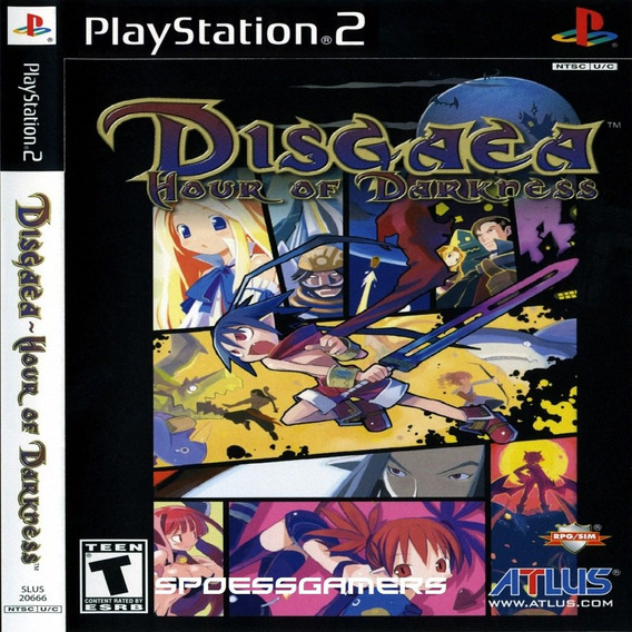 Disgaea 1 Hour Of Darkness Ps2 Patch .