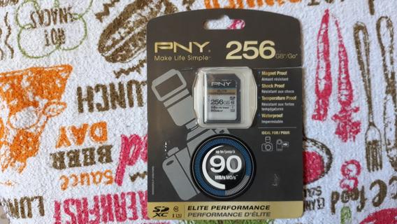 Cartão Sd Pny 256gb 90 Mb/s Original No Blister
