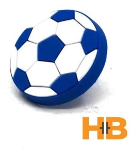 Imagen 1 de 4 de Tirador Infantil Silicona Pelota Futbol.