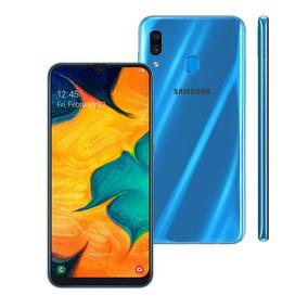 Celular Samsung Galaxy A30 Dual 64gb 4gb Ram A305 Azul
