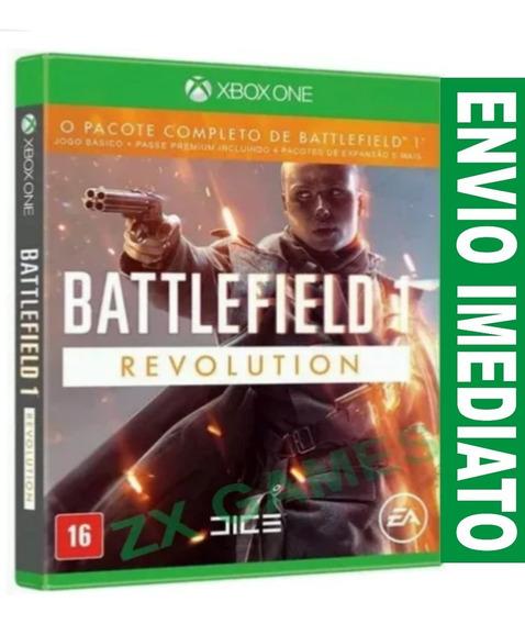 Battlefield 1 Revolution Xbox One Versão Premium Joga Online