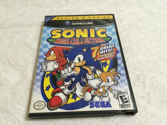 Sonic Mega Collection Completo - Com 7 Jogos