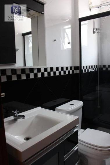 Apartamento Com 2 Dormitórios À Venda, 55 M² Por R$ 225.000 - Vila Camilópolis - Santo André/sp - Ap9531