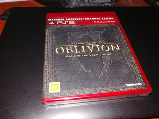 The Elder Scrolls 4 Iv Oblivion Goty Edition Ps3 Nuevo