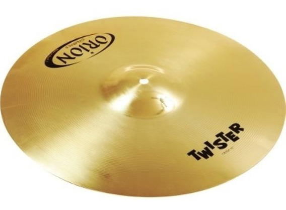 Chimbal Hi Hat 13 Orion Twister Par De Pratos Para Bateria