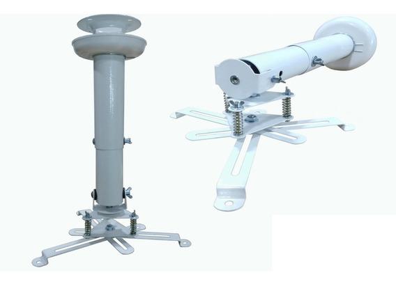 Suporte Universal De Teto P/ Projetor C/extensor 25cm À 32cm