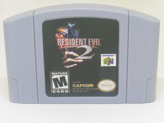 Resident Evil 2 Nintendo 64 Novo N64
