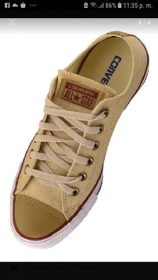Zapatillas Converse Chuck Taylor All Star Ox Lino Talle 37