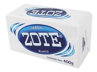 Jabón En Barra Zote 400g