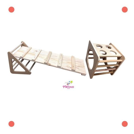 Triangulo + Rampa + Cubo Montessori
