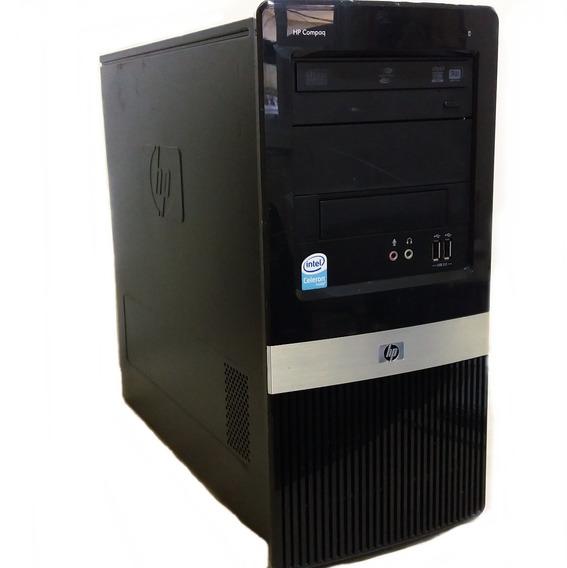 Computador Hp Dx2390 Dual Core 2gb Ram Hd 80 Gb Gravador Dvd