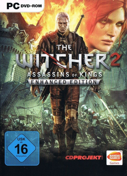The Witcher 2 Assassins Of Kings Pc (dvd) Ou (digital)