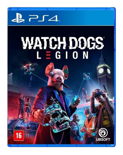 Imagen 1 de 3 de Watch Dogs: Legion Standard Edition Ubisoft PS4  Físico