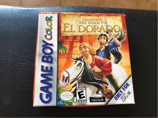 Juego Gameboy Color The Road To El Dorado, Cómo Nuevo