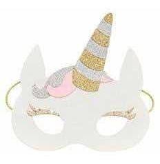 Antifaz Unicornio Para Fiesta O Disfraz 10 Piezas