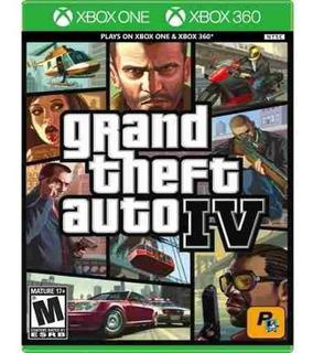 Grand Theft Auto Iv Xbox One Y Xbox360