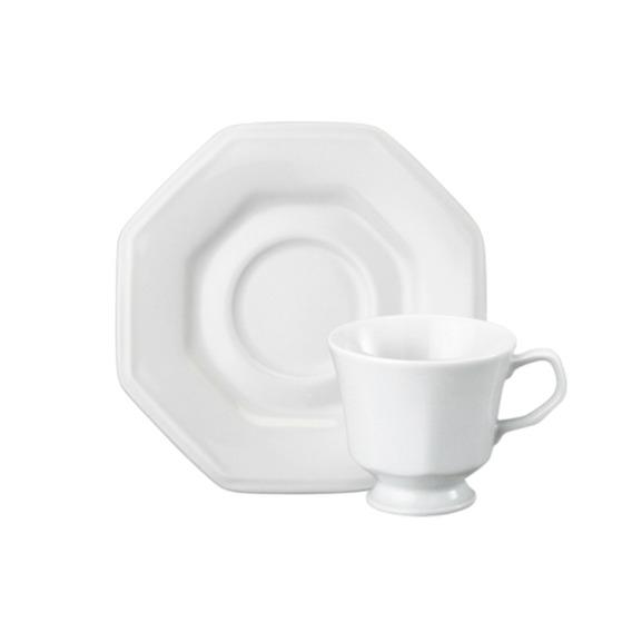Xícara Café Em Porcelana Schmidt Prisma 60ml
