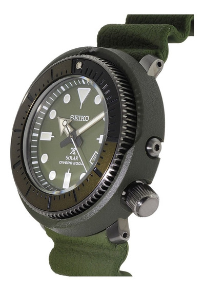Relógio Seiko Prospex Street Tuna Verde Sne535p1