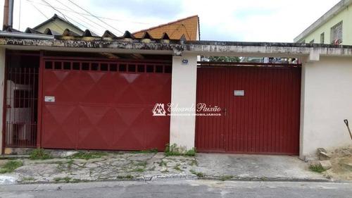 Imagem 1 de 18 de Duas Casas No Mesmo Terreno Na Cidade Brasil - Ca0237